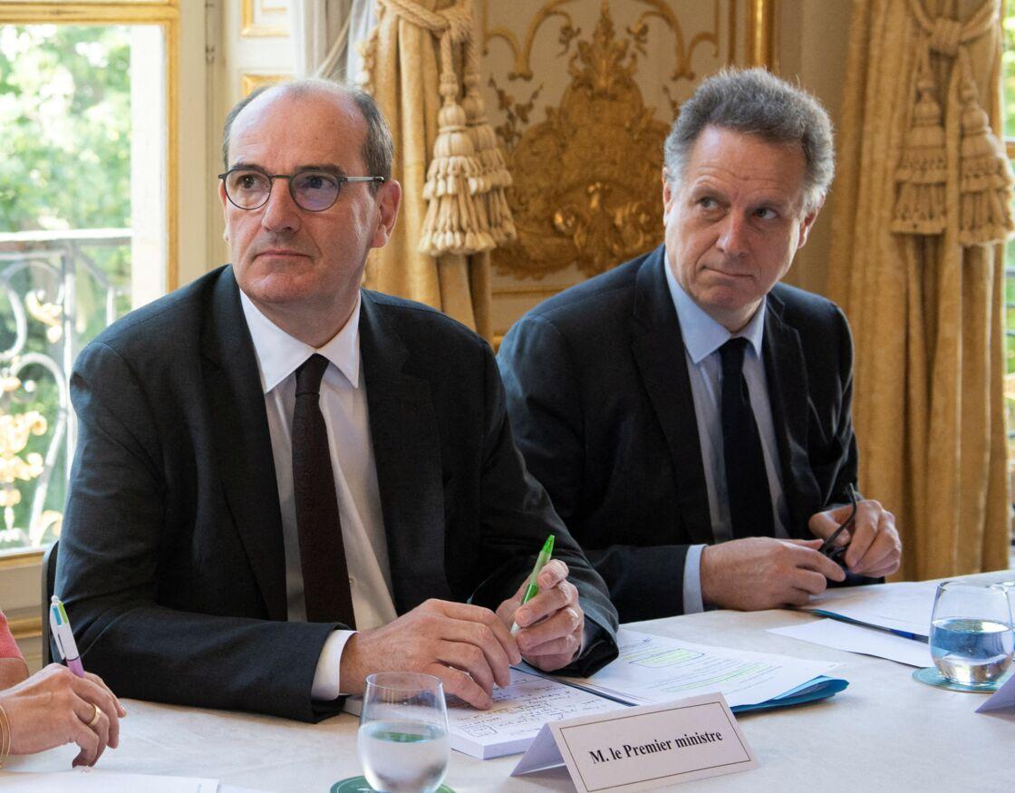 Jean Castex et Nicolas Revel