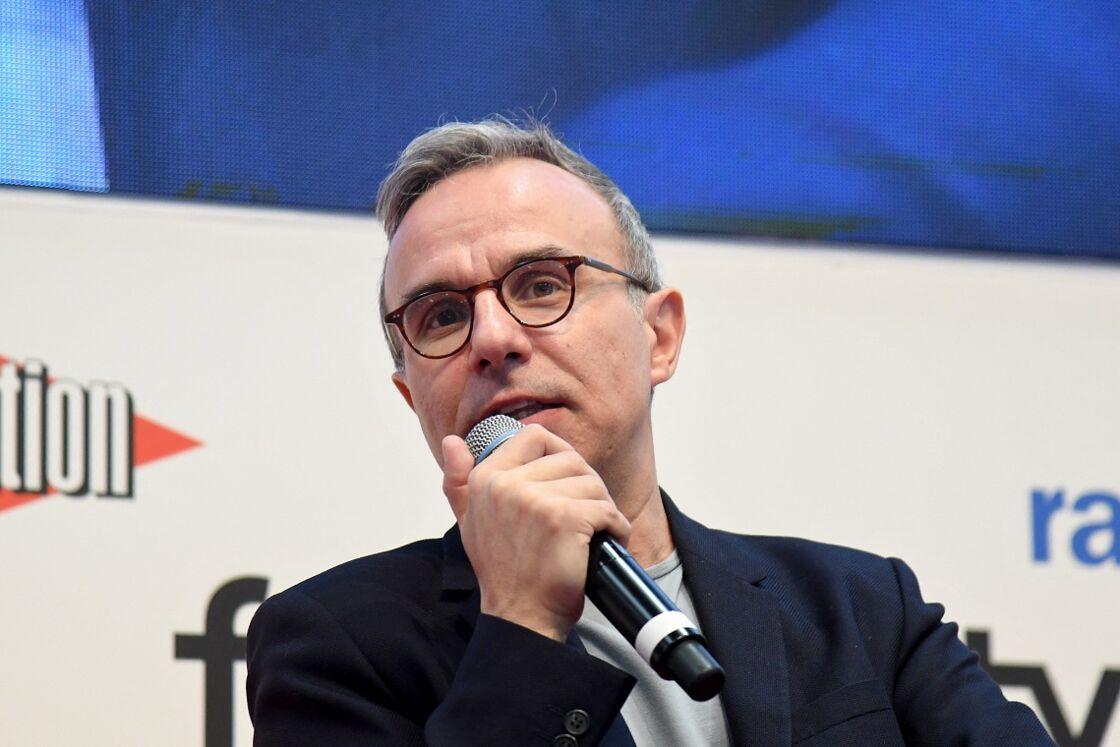 Philippe Besson au Salon du Livre de Paris, le 15 mars 2019.