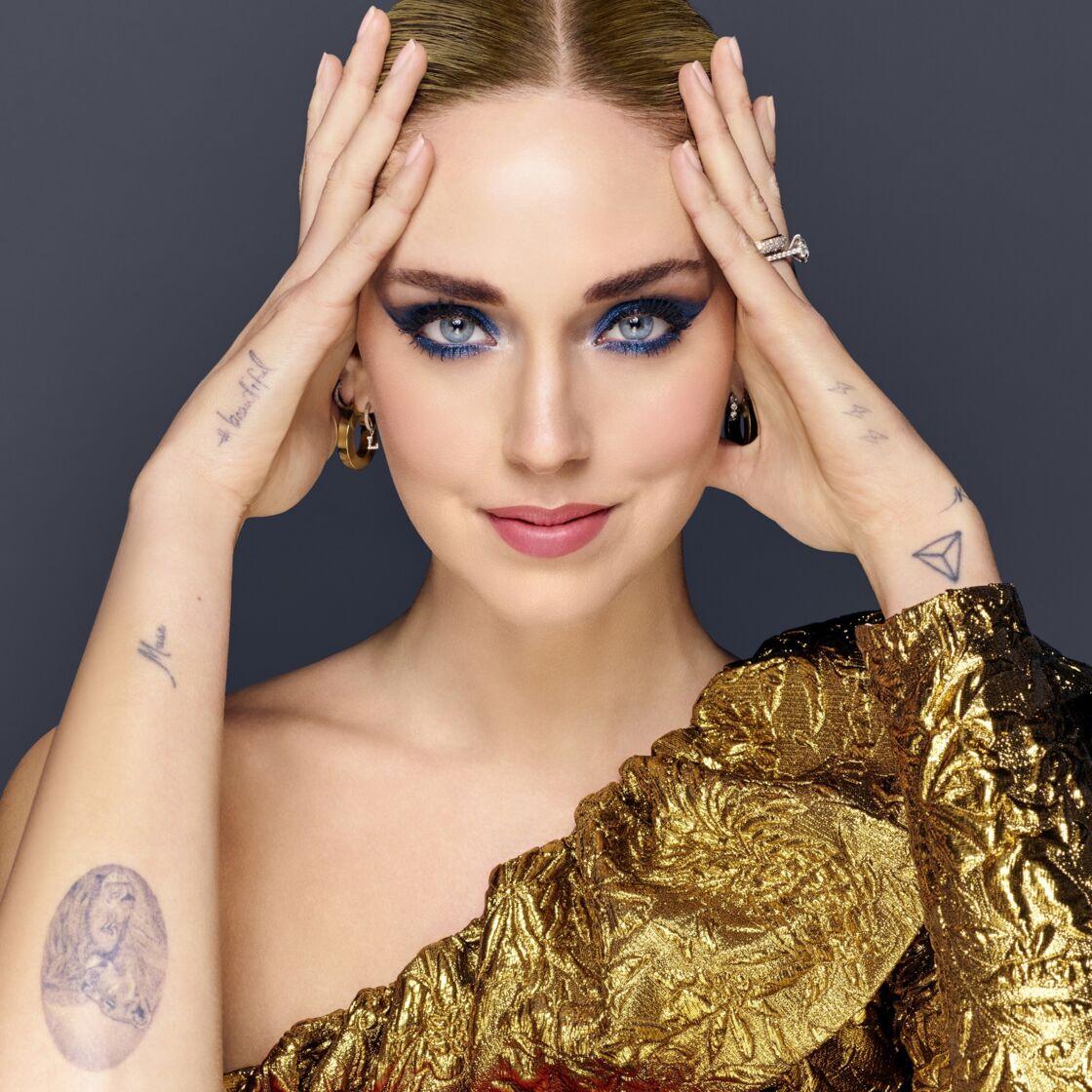 Pour les fêtes, reproduisez le maquillage de Chiara Ferragni avec sa collection collector pour Lancôme