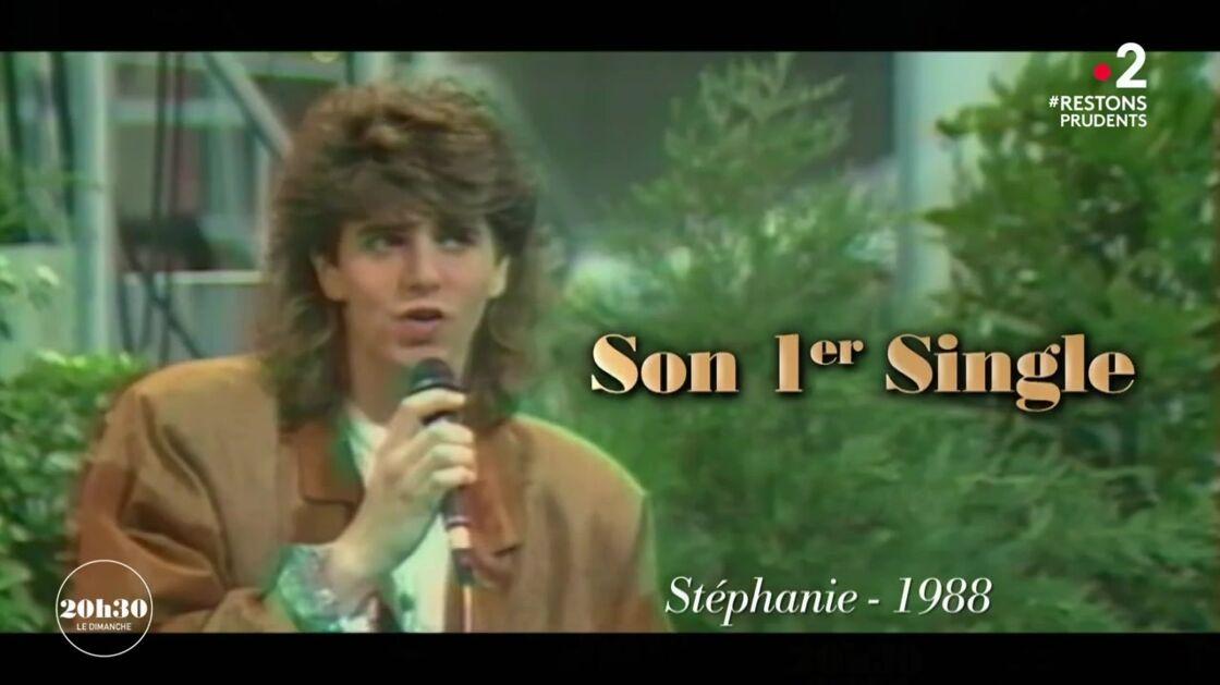 Patrick Fiori, à Marseille, en 1988, pour chanter son premier single