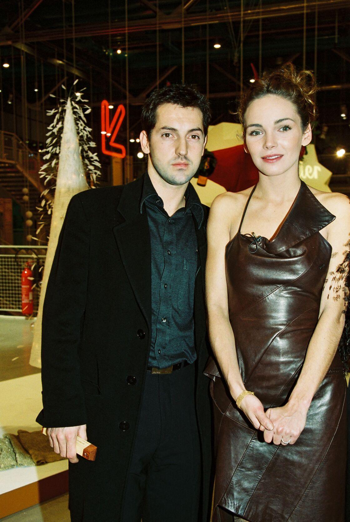 Frédéric Diefenthal et Claire Keim au début des années 2000, lorsqu'ils étaient en couple.