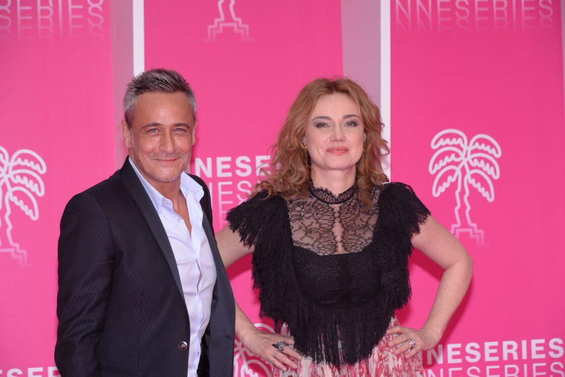 Jean-Michel Tinivelli et Marine Delterme