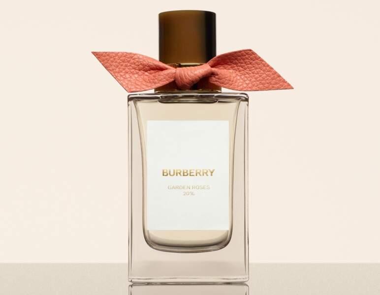 Eau de Parfum Burberry Signatures Garden Roses, Burberry, 230 € les 100 ml en exclusivité aux Galeries Lafayette