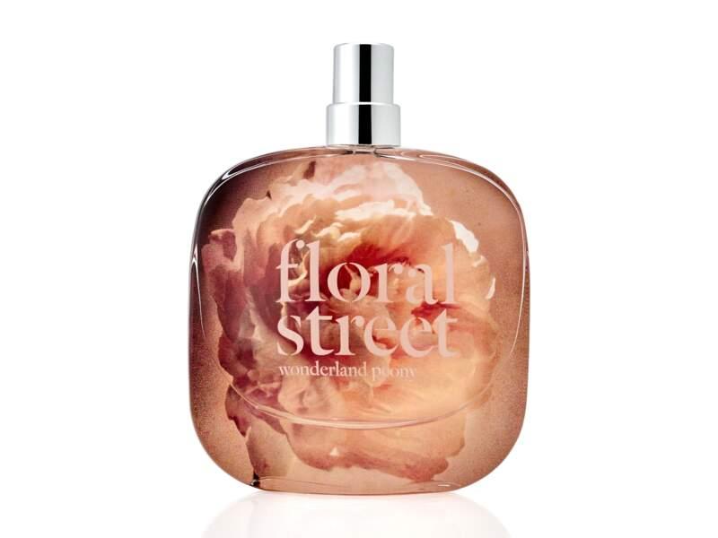 Eau de Parfum Wonderland Peony, Floral Street, 59 € les 50 ml en exclusivité chez Sephora
