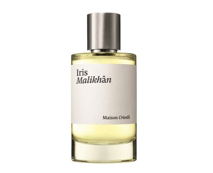 Iris Malikhân, Maison Crivelli, à partir de 80 € les 30 ml