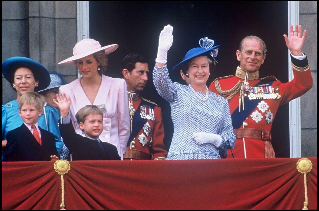 Lady Diana et la reine Elizabeth II