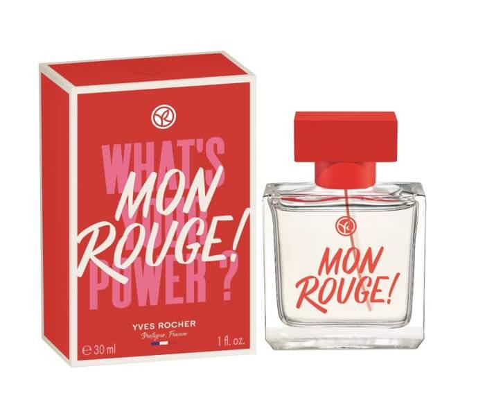 Mon Rouge ! L'Eau de Parfum, Yves Rocher, à partir de 39,80 € les 30 ml