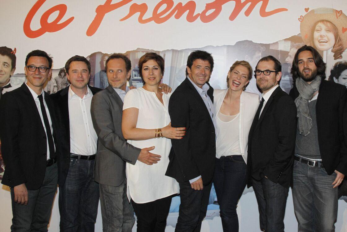 Le casting du film Le Prénom en 2012