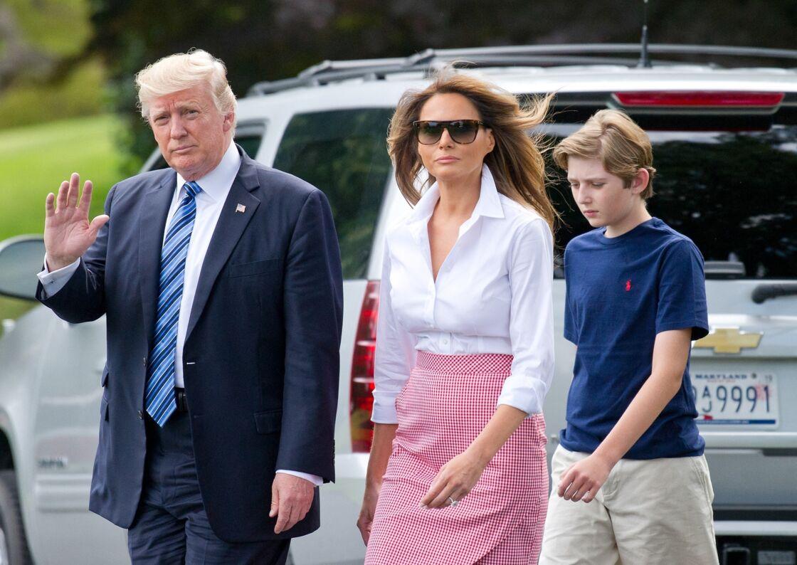 Melania Trump, prête à tout pour son fils Barron
