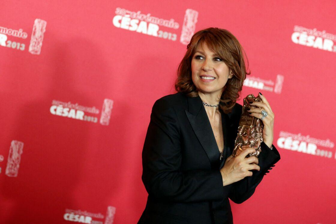 Valérie Benguigui aux Césars en 2013, sept mois avant sa mort
