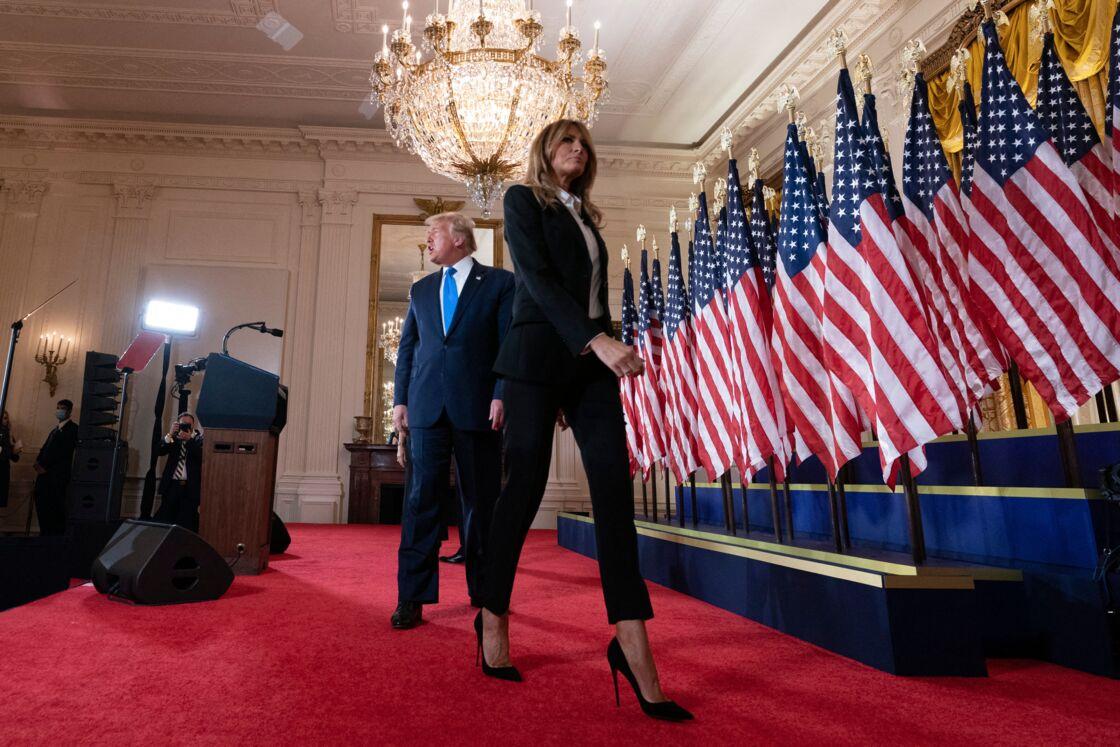 Melania Trump au bout du rouleau ? Ce soir d'élection où elle n'a fait que pleurer - Gala