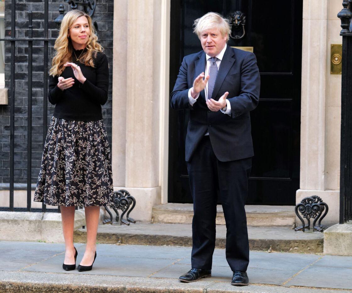 Carrie Symonds et Boris Johnson