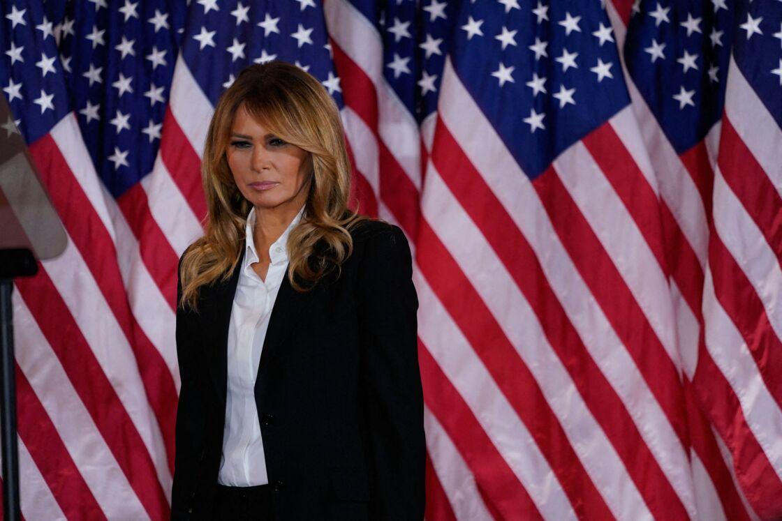 Melania Trump, actuelle First Lady des États-Unis, en aurait assez de la Maison-Blanche