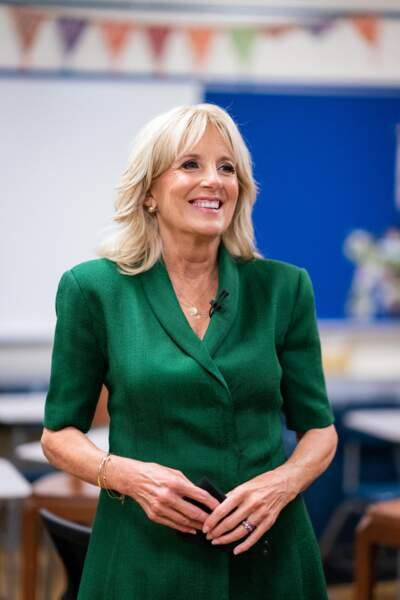 Le carré long, blond et chic de Jill Biden, la nouvelle First Lady