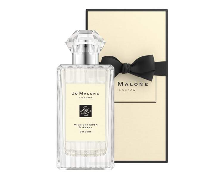 Cologne Midnight Musk & Amber, Jo Malone, 115 € les 100 ml