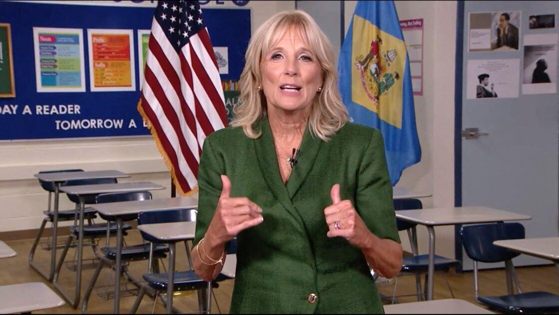 Jill Biden possède un doctorat d'anglais