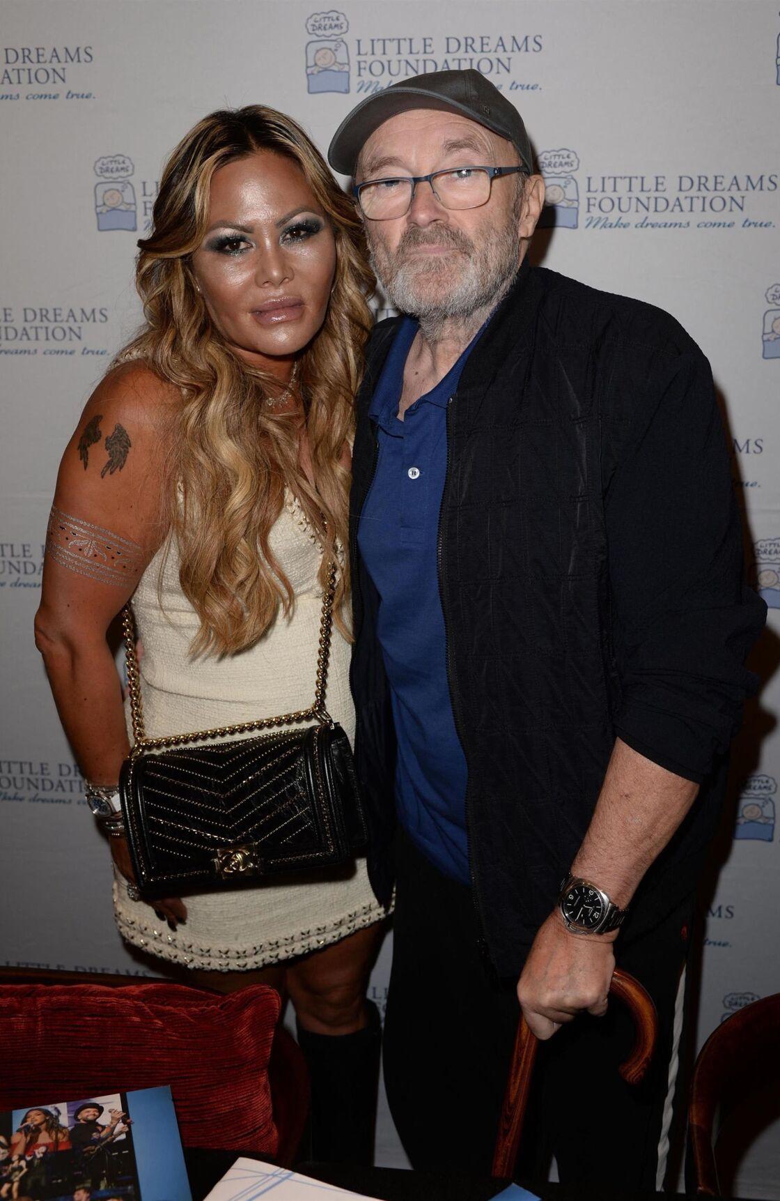 Phil Collins et son ex-femme Orianne Cevey