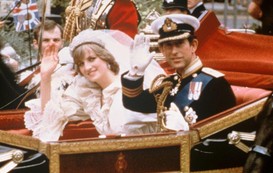 Mariage de Charles et Diana en 1981