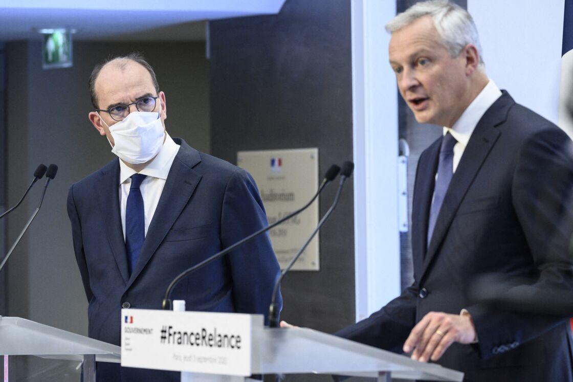 Bruno Le Maire et Jean Castex