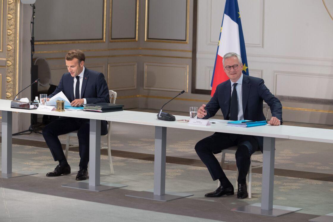 Bruno Le Maire chercherait-il à prendre la place d'Emmanuel Macron, en vue de 2022?