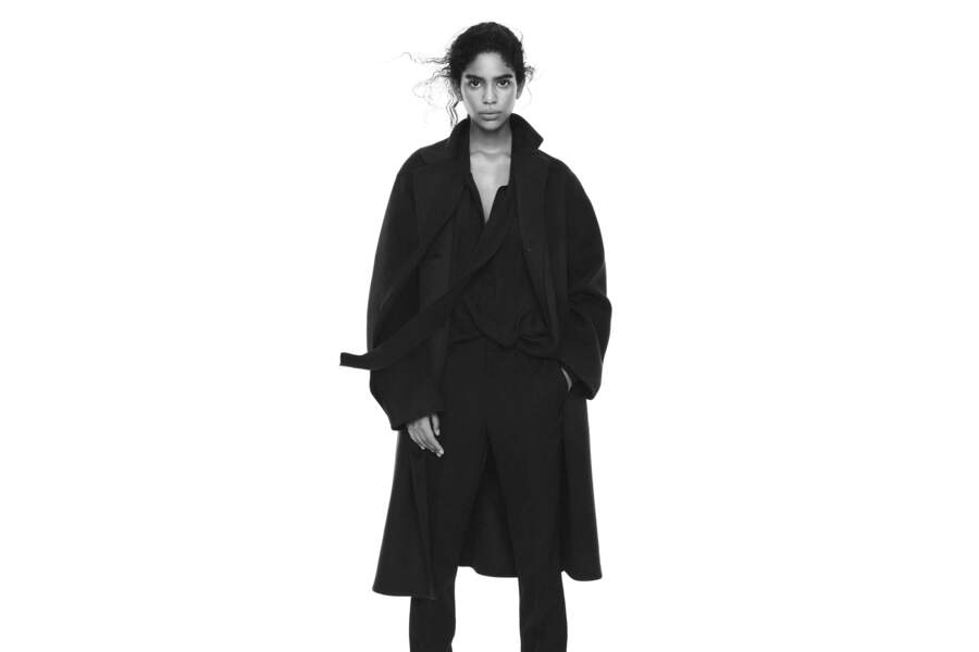 Manteau Hybride, 179,99€, Collaboration Jil Sander et Uniqlo
