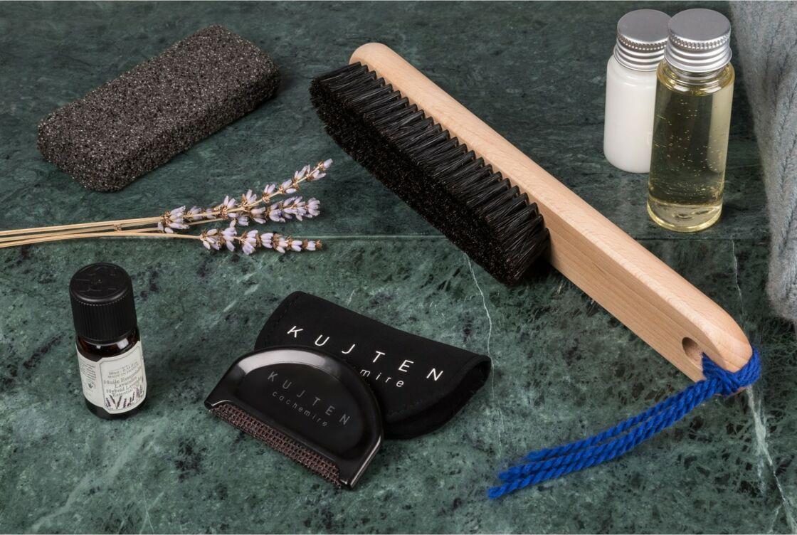 Pour les retirer les bouloches, utiliser un rasoir anti bouloche ou un peigne.