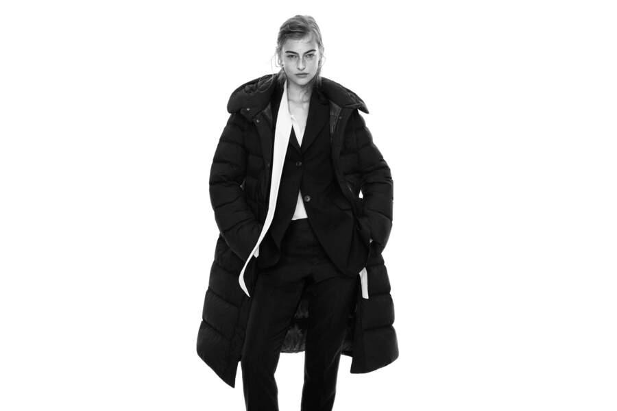 Doudoune longue, 129,90€, Collaboration Jil Sander et Uniqlo