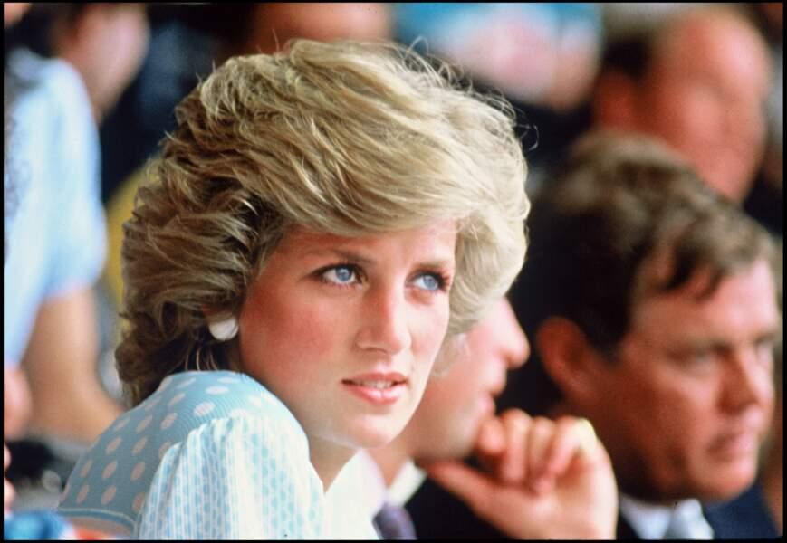 La princesse Lady Diana lors du concert Live Aids, le 13 juillet 1985