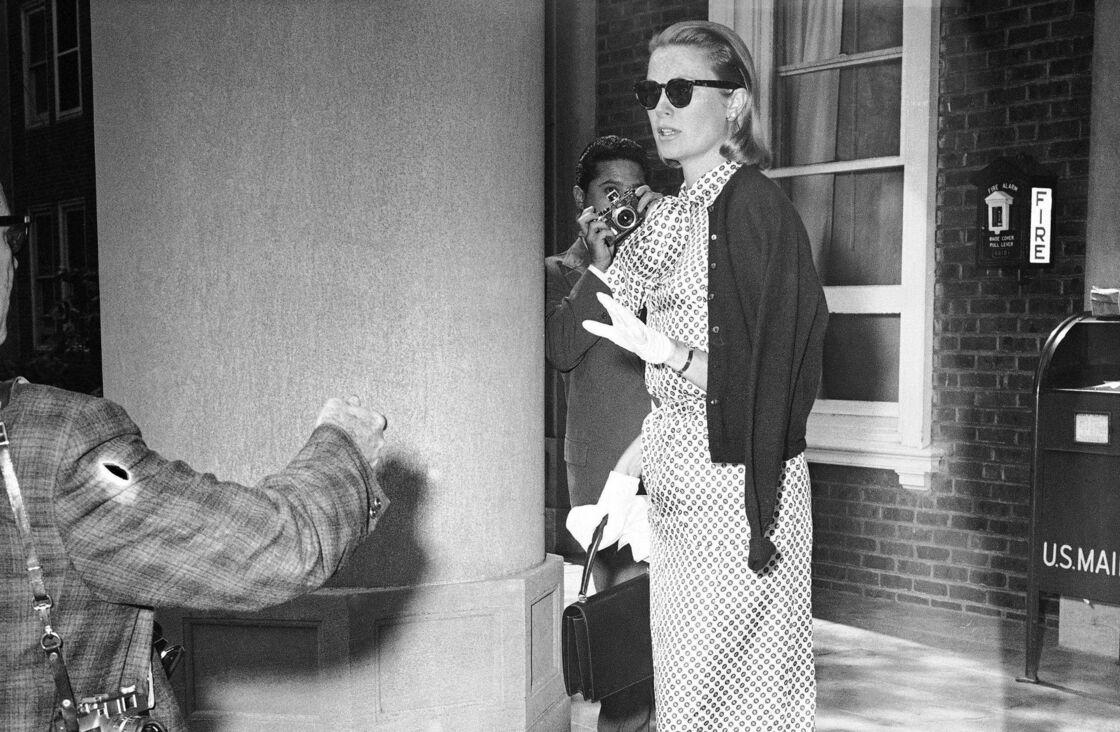 Grace Kelly à Philadelphie, en 1960