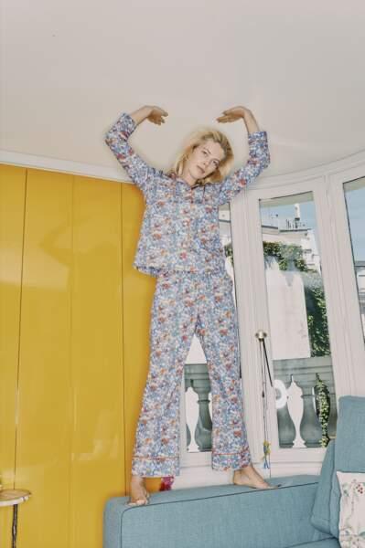 Pyjama P.J Night en coton - Paul & Joe, 220€