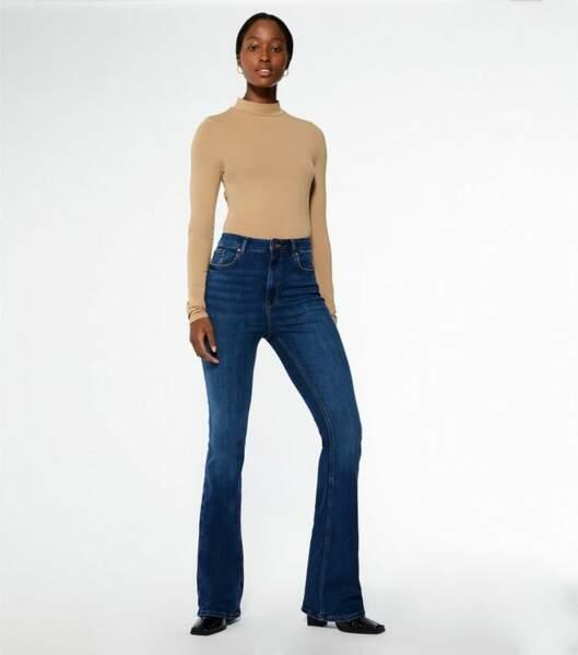 Jean flare brut - New Look, 33€