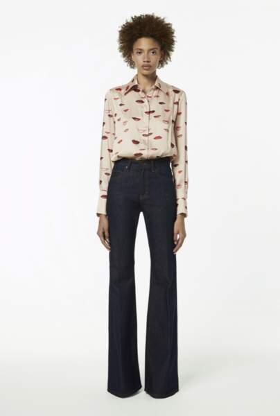 Jean flare - Victoria Beckham, 195€