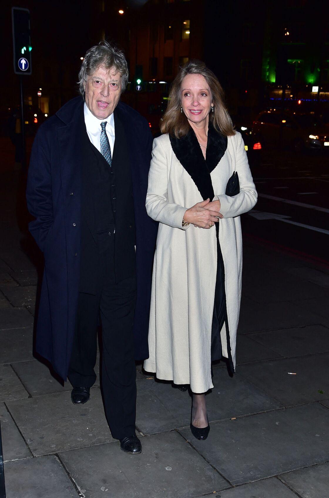 Sabrina Guinness et son mari