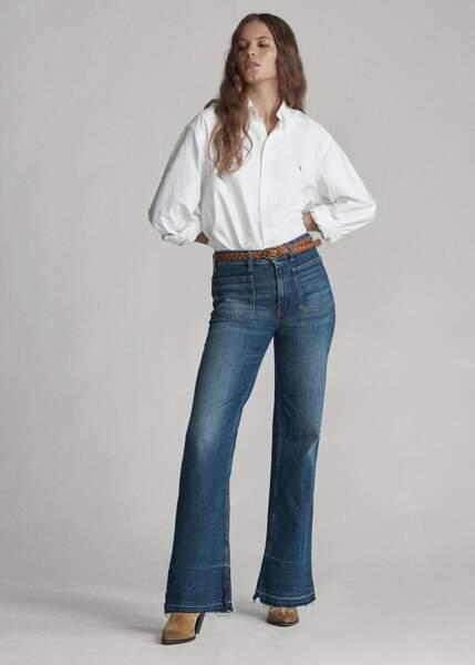 Jean évasé stretch - Ralph Lauren, 199€