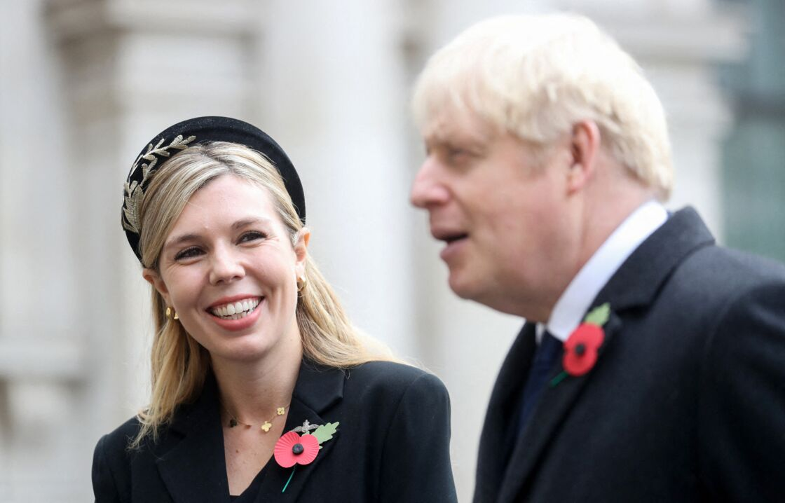 Carrie Symonds et Boris Johnson