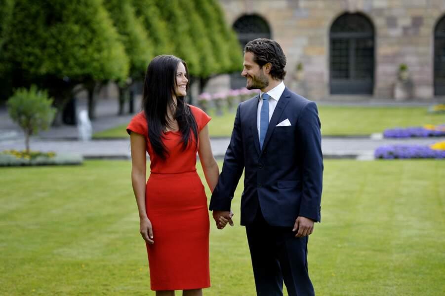 Les fiançailles de Carl Philip de Suède et sa compagne Sofia Hellqvist