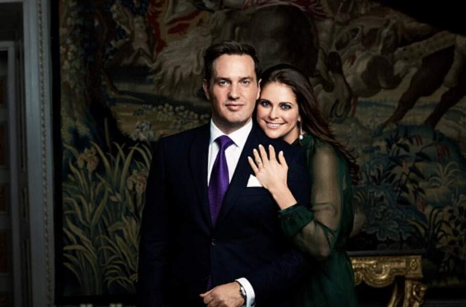 Les fiançailles de Madeleine et Christopher O'Neill