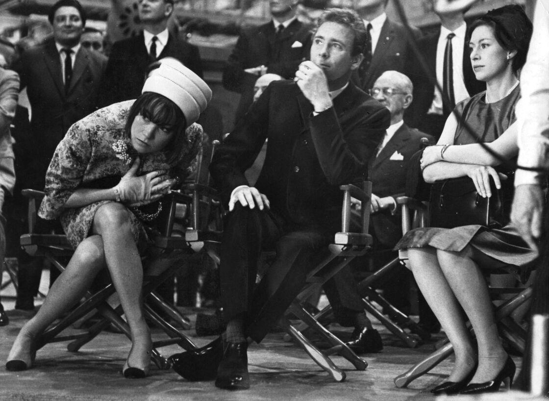 Lord Snowdon et la princesse Margaret sur un tournage à Hollywood avec Shirley McLaine en novembre 1965