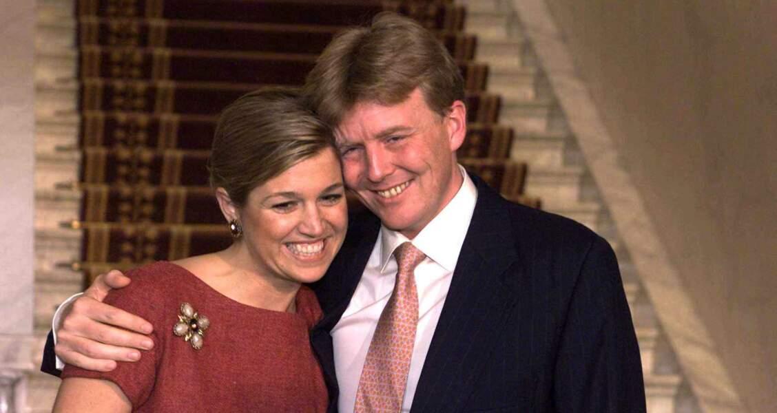 Les fiançailles du prince Willem-Alexander avec la princesse Máxima