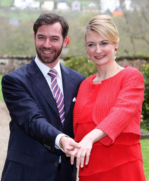 Les fiançailles de Guillaume du Luxemburg et Stephanie de Lannoy