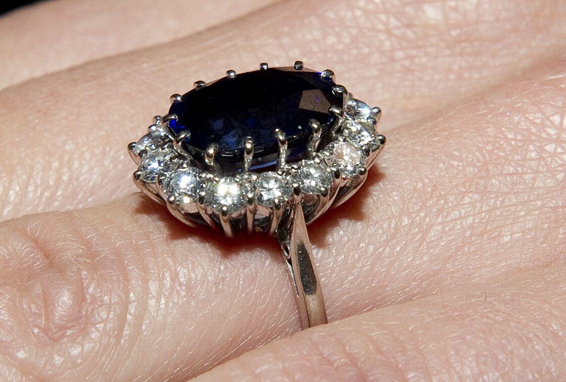 La bague de fiançailles de Kate Middleton.