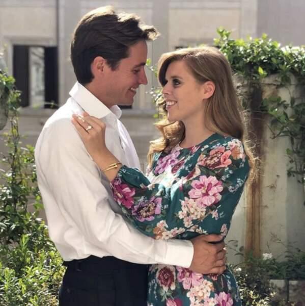 Les fiançailles de la princesse Beatrice et Edoardo Mapelli
