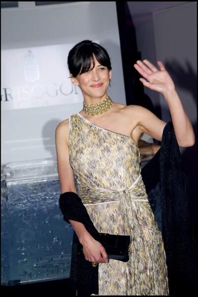 En 2006, Sophie Marceau renoue avec son brun naturel