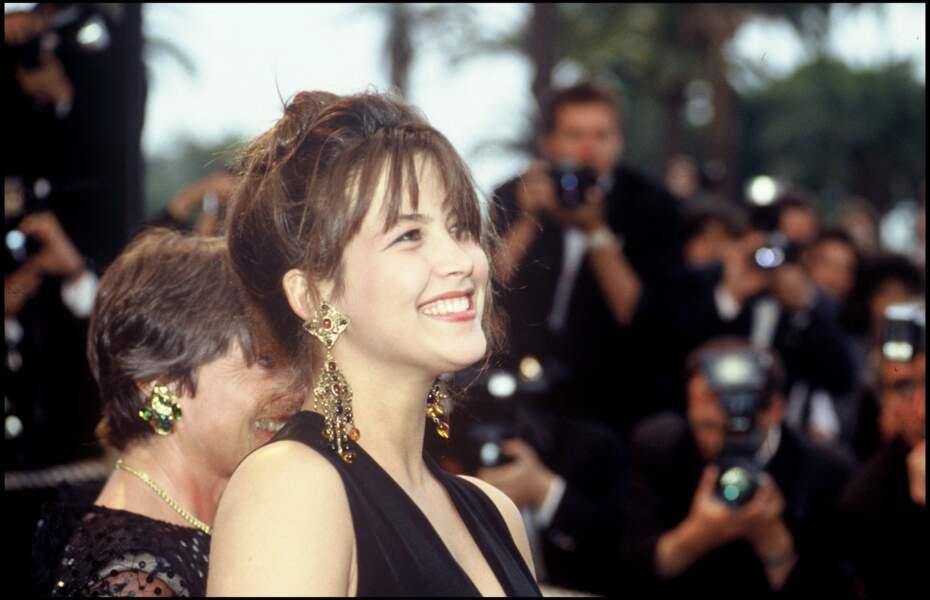 En 1989, Sophie Marceau fait, une fois n'est pas coutume, sensation au Festival de Cannes