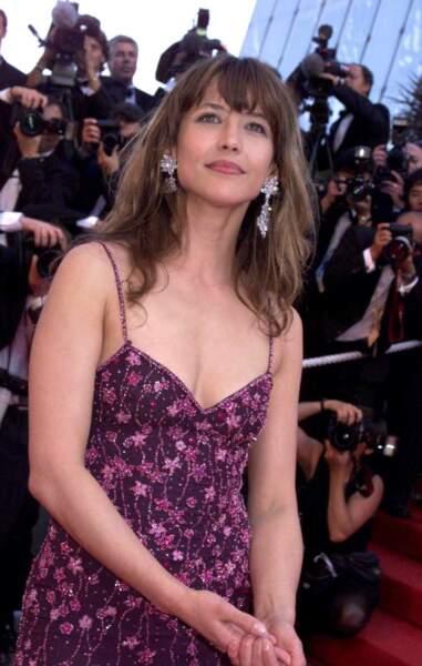 Sophie Marceau, 32 ans, magnifique au Festival de Cannes en 1999