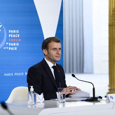 Emmanuel Macron embarrassé: «Il a passé une tête à la fin de la réunion»
