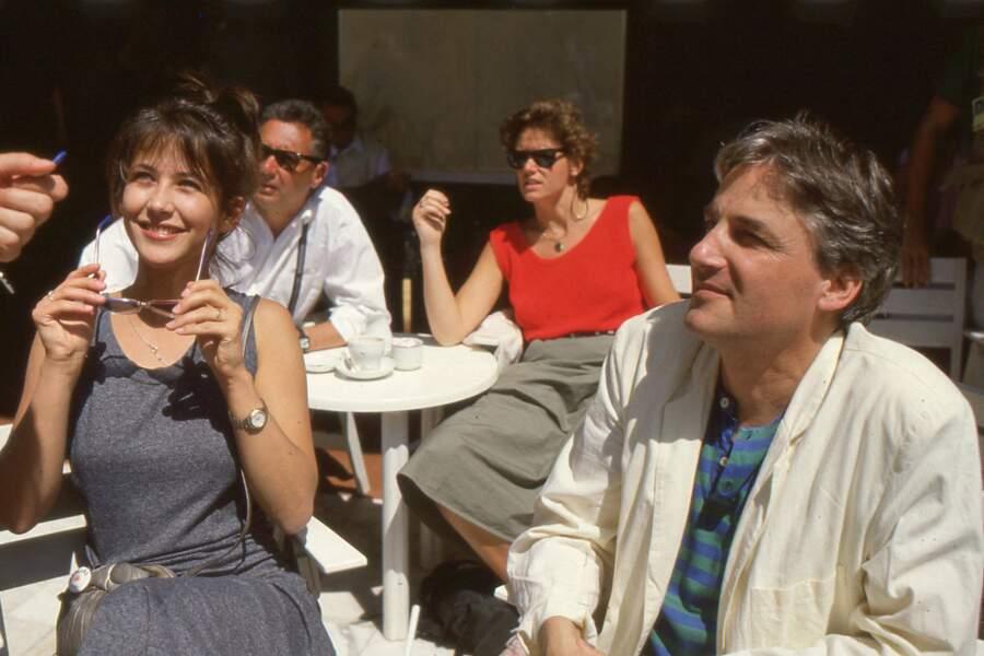 En 1986, fraîchement mariée à Andrzej Zulawski, Sophie Marceau rayonne