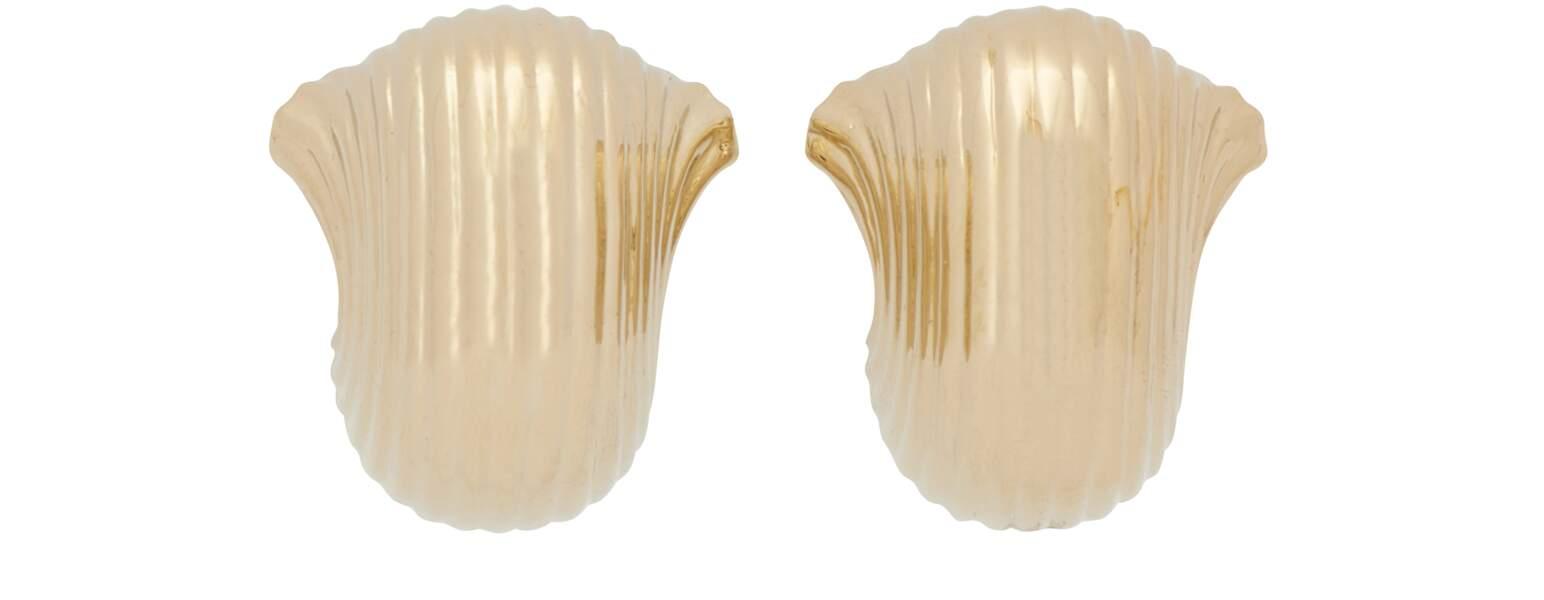 Boucle d'oreille Pasta, Jacquemus, 270 €. www.24S.com