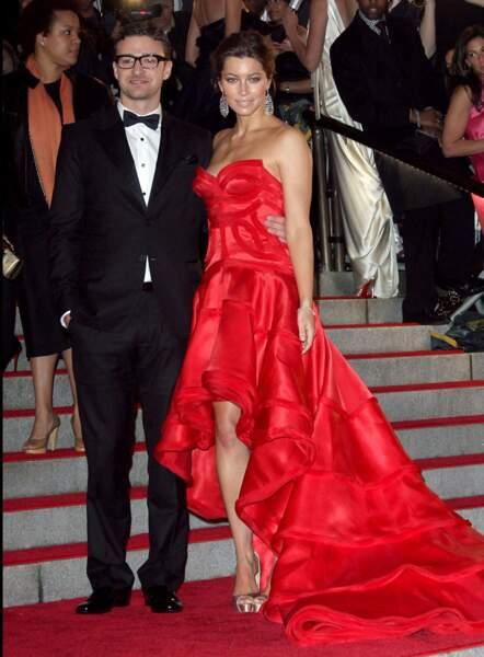 Alors qu'il roucoule depuis plusieurs années avec Jessica Biel, Justin Timberlake décide de rompre en 2011