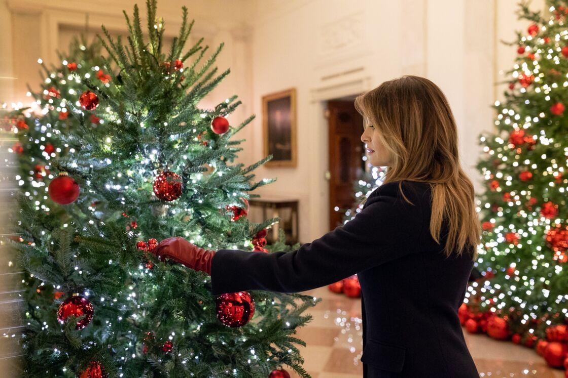 Melania Trump prend Noël très au sérieux
